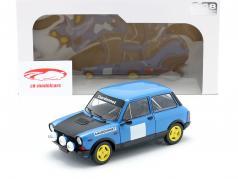 Autobianchi A112 Abarth MK5 Chardonnet 1980 bleu / noir 1:18 Solido