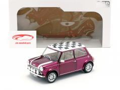 Mini Cooper 1.3i Sport Pack Baujahr 1997 lila metallic 1:18 Solido