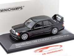 Mercedes-Benz 190E 2.5-16 Evo 2 Baujahr 1990 schwarz 1:43 Minichamps