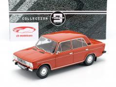 Lada 2106 year 1976 orange red 1:18 Triple9