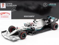 L. Hamilton Mercedes-AMG F1 W10 #44 allemand GP Champion du monde F1 2019 1:18 Minichamps