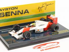 Ayrton Senna McLaren MP4/5B #27 World Champion Canada GP F1 1990 1:43 Minichamps