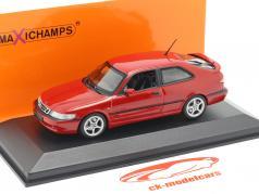 Saab 9-3 Viggen year 1999 red 1:43 Minichamps