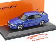 Saab 9-3 Viggen year 1999 blue 1:43 Minichamps