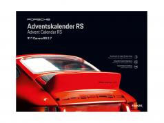 Porsche RS adventskalender 2020: Porsche 911 Carrera RS 2.7 1:24 Franzis