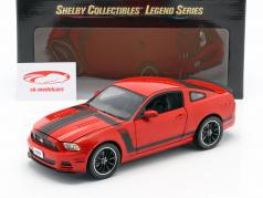Ford Mustang Boss 302 Baujahr 2013 rot 1:18 ShelbyCollectibles