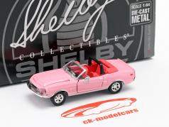 Shelby GT500KR Convertible Baujahr 1968 pink 1:64 ShelbyCollectibles