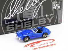 Shelby Cobra CSX2000 Année de construction 1962 bleu 1:64 ShelbyCollectibles