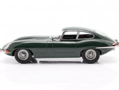 Jaguar E-Type Coupe Series 1 LHD 建設年 1961 濃い緑色 1:18 KK-Scale