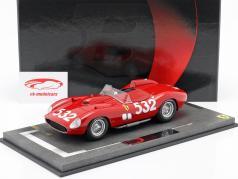 Ferrari 315 Sport #532 2ª Mille Miglia 1957 Graf Berghe von Trips 1:18 BBR