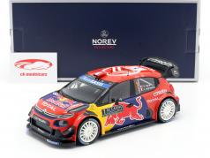 Citroen C3 WRC #1 Vincitore Rallye Monte Carlo 2019 Ogier, Ingrassia 1:18 Norev
