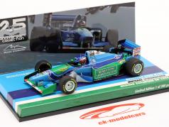 M. Schumacher Benetton B194 #5 Европейский GP F1 Чемпион мира 1994 1:43 Minichamps