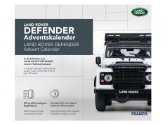Land Rover Defender Adventskalender 2020: Land Rover Defender weiß 1:43 Franzis