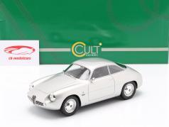 Alfa Romeo Giulietta Sprint Zagato (SZ) 1961 silver 1:18 Cult Scale