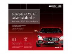 Mercedes-AMG GT calendrier de l'Avent 2020: Mercedes-Benz AMG GT rouge 1:43 Franzis