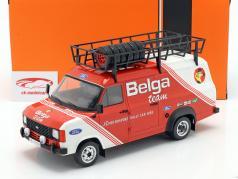 Ford Transit MK II 1979 Rallye Assistance Belga Team rosso / bianca 1:18 Ixo