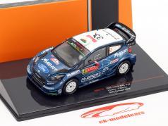 Ford Fiesta WRC #33 5. plads Rallye Portugal 2019 Evans, Martin 1:43 Ixo