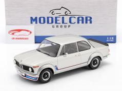 BMW 2002 Turbo (E20) year 1973 silver 1:18 Model Car Group