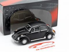 Volkswagen VW Beetle Classic matt schwarz 1:43 Cararama