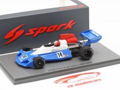 Ian Ashley BRM P201B #14 Brasilien GP Formel 1 1976 1:43 Spark