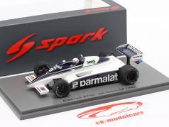 Riccardo Patrese Brabham BT50 #2 5th Schweiz GP Formel 1 1982 1:43 Spark