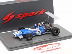Jackie Stewart Matra MS80 #7 Winner Race of Champions 1969 1:43 Spark