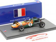 Jochen Rindt Lotus 59 #2 3rd Albi GP Formel 2 1969 1:43 Spark