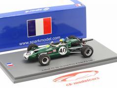 Ronnie Peterson Lotus 59 #40 5th Albi GP Formel 2 1969 1:43 Spark