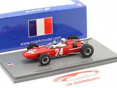Bruce McLaren McLaren M4A #24 2nd Rouen GP Formel 2 1967 1:43 Spark