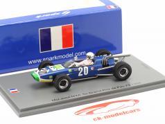 Guy Ligier McLaren M4A #20 5th GP de Pau Formel 2 1968 1:43 Spark