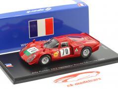 Alfa Romeo 33/2 #70 Sieger Rallye Ronde Cevenole 1969 Ignacio Giunti 1:43 Spark