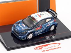 Ford Fiesta WRC #3 4 ° Rallye Portogallo 2019 Suninen, Salminen 1:43 Ixo