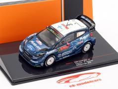 Ford Fiesta WRC #3 4e Rallye le Portugal 2019 Suninen, Salminen 1:43 Ixo