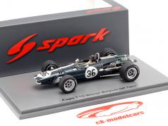 Dan Gurney Eagle T1G #36 winnaar Belgisch GP formule 1 1967 1:43 Spark