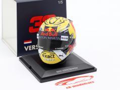 Max Verstappen #33 gagnant autrichien GP formule 1 2018 casque 1:5 Spark