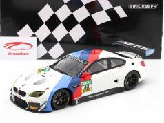 BMW M6 GT3 #42 优胜者 GT Masters Oschersleben 2017 Collard , Eng 1:18 Minichamps