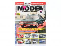 Modell Fahrzeug - magasin produktion November december 06 / 2020