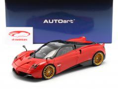 Pagani Huayra Roadster year 2017 red 1:18 AUTOart