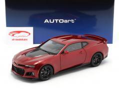 Chevrolet Camaro ZL1 year 2017 red 1:18 AUTOart