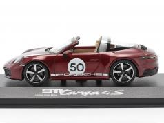 Porsche 911 Targa 4 S #50 Heritage Edition cherry red metallic 1:43 Minichamps
