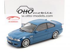 BMW M3 (E46) Année de construction 2000 laguna seca bleu 1:18 OttOmobile