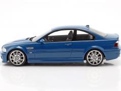 BMW M3 (E46) Ano de construção 2000 laguna seca azul 1:18 OttOmobile