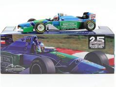M. Schumacher Benetton B194 #5 ganador Hungría F1 Campeón mundial 1994 1:18 Minichamps