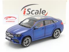 Mercedes-Benz GLE Coupe (C167) Byggeår 2020 strålende blå 1:18 iScale