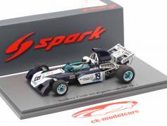 Tim Schenken Surtees TS9B #19 Argentina GP formula 1 1972 1:43 Spark