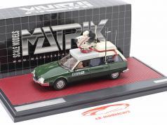 Citroen CX Safari Camera Car BBC TV Baujahr 1992 grün / weiß 1:43 Matrix