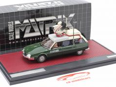Citroen CX Safari Camera Car BBC TV year 1992 green / white 1:43 Matrix