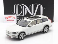 Volvo V90 Cross Country year 2017 white 1:18 DNA Collectibles