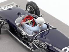 Stirling Moss Lotus 18 #20 Ganador Mónaco GP fórmula 1 1961 1:18 Tecnomodel