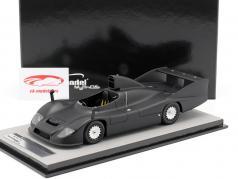 Porsche 936 test version 1977 mat black 1:18 Tecnomodel